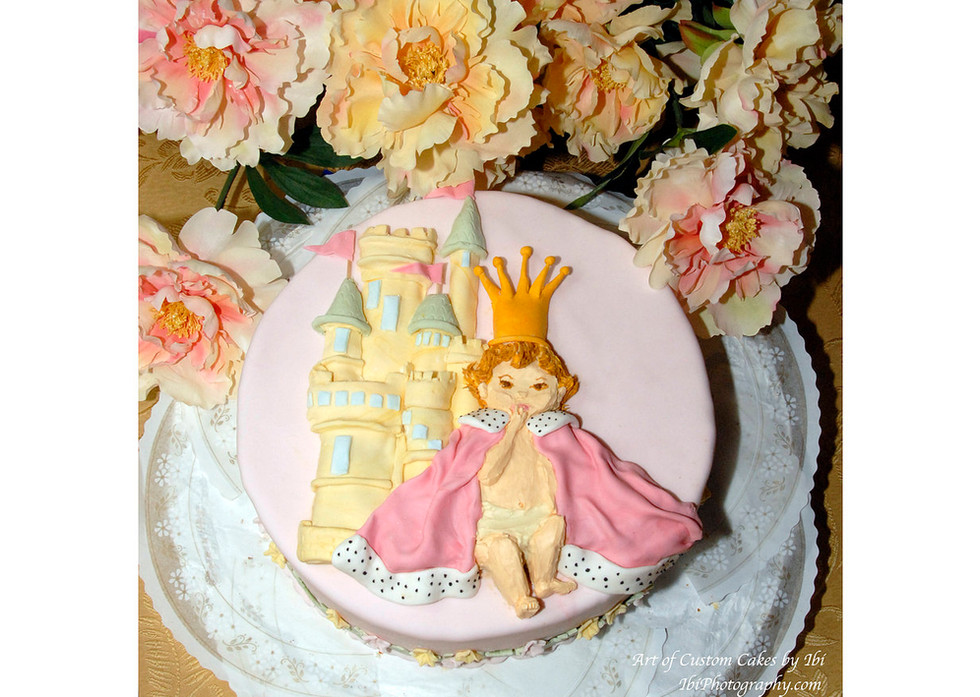 Baby Show Cake