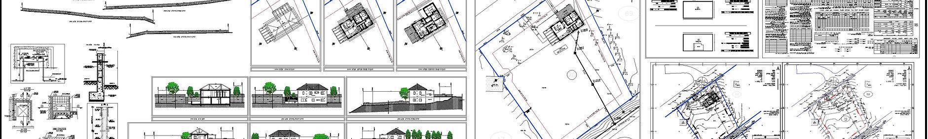 תכנית הגשה למבנה תעשיה לדוגמא