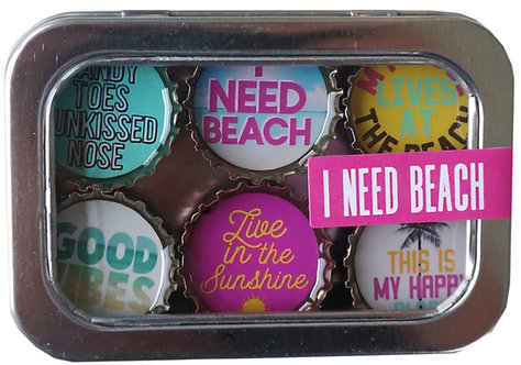 I NEED BEACH -  by KATE'S Magnetics