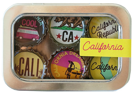 California-  by KATE'S Magnetics