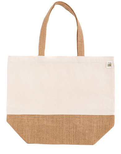 The Piermont Recycled Cotton & Jute Bag