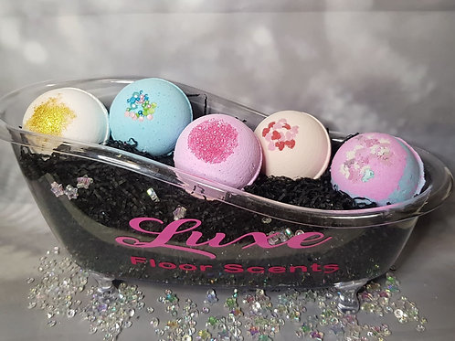 Luxe Dupe Bath Bombs!