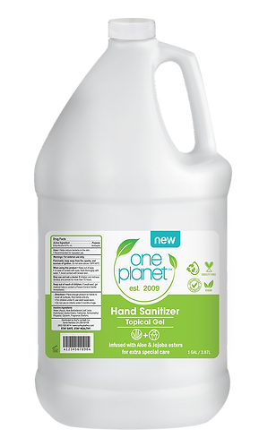 One Gallon (128fl oz.) |  Moisturizing Hand Sanitizer Made in California