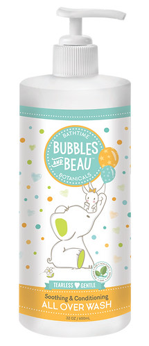 Family Size | 32 oz.  Bubbles & Beau All Over Wash