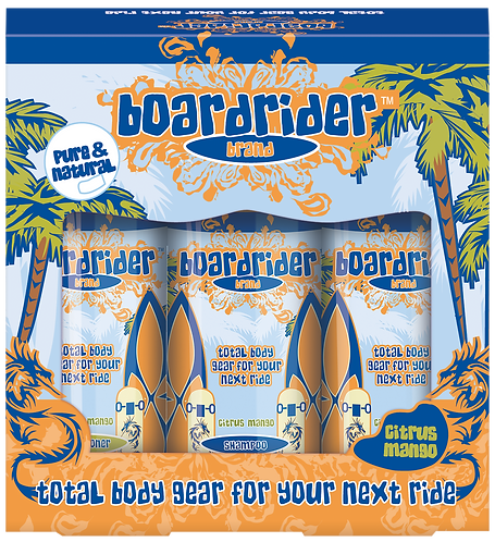 Boardrider Brand Total Body Gear Amenities