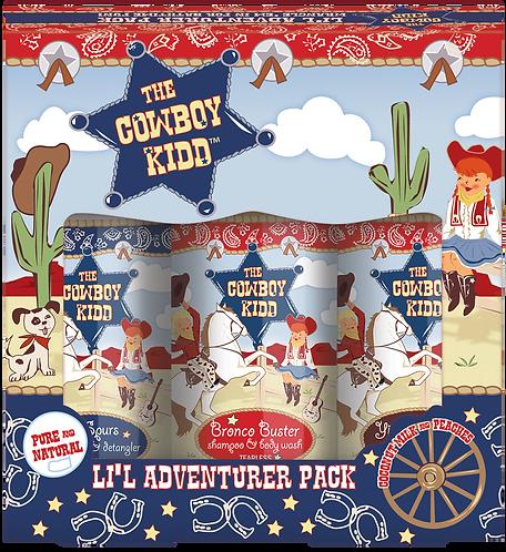The Cowboy Kidd Li'l Adventurer Pack Amenities
