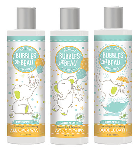 Bundle & Save - All Over Wash, Conditioner, Bubble Bath