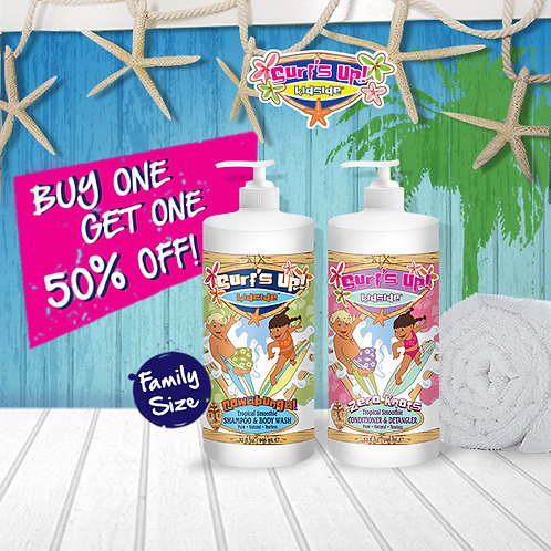 32 OZ - BOGO | Buy One Get One 50% Off - Shampoo & Conditioner