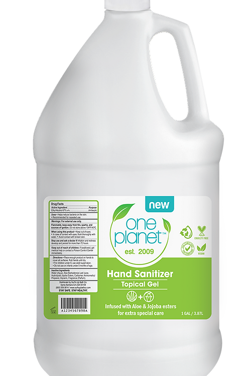 One Planet  (1 Gal/128oz.)  Hand Sanitizer | 4 PACK