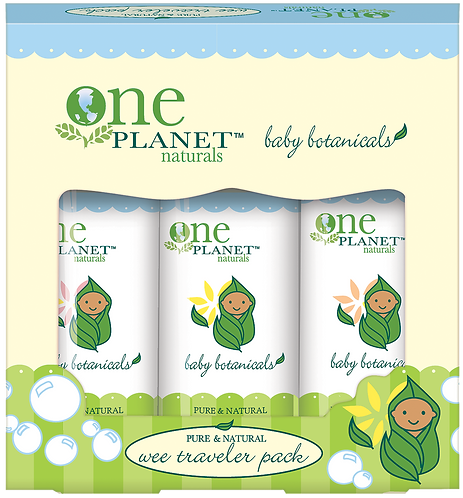 One Planet Wee Traveler Pack Amenities