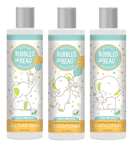 Bundle & Save - All Over Wash, Conditioner, Body Lotion