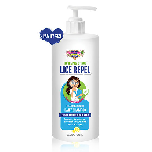 32 OZ | Surf's Up Lice Repel Daily Shampoo