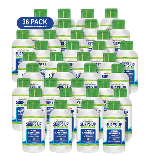 8 OZ | 36-PACK Hand Sanitizer Topical Gel
