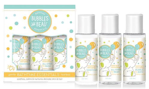 Bubbles & Beau Bathtime Essentials Travel Kit