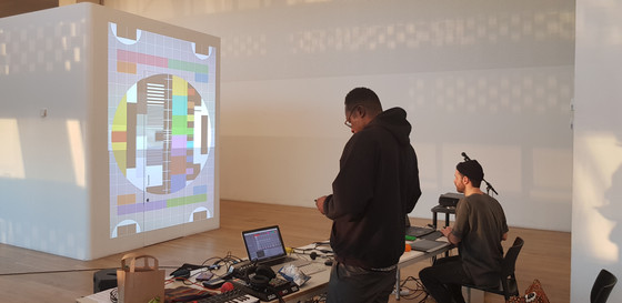 Video Mapping Installation