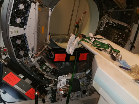 Siemens Xray Tube Install