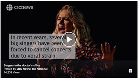 About Vocal Strain...