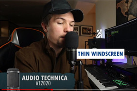 Pop Filter or Wind Screen for Home Recording Mics?