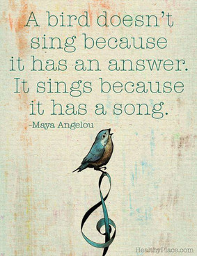 Meme about why we sing...
