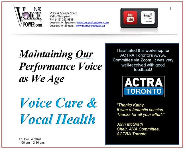 AYA Committee workshop review - promo im