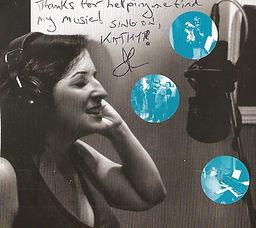 Ilana's CD cover - kudos for singing les