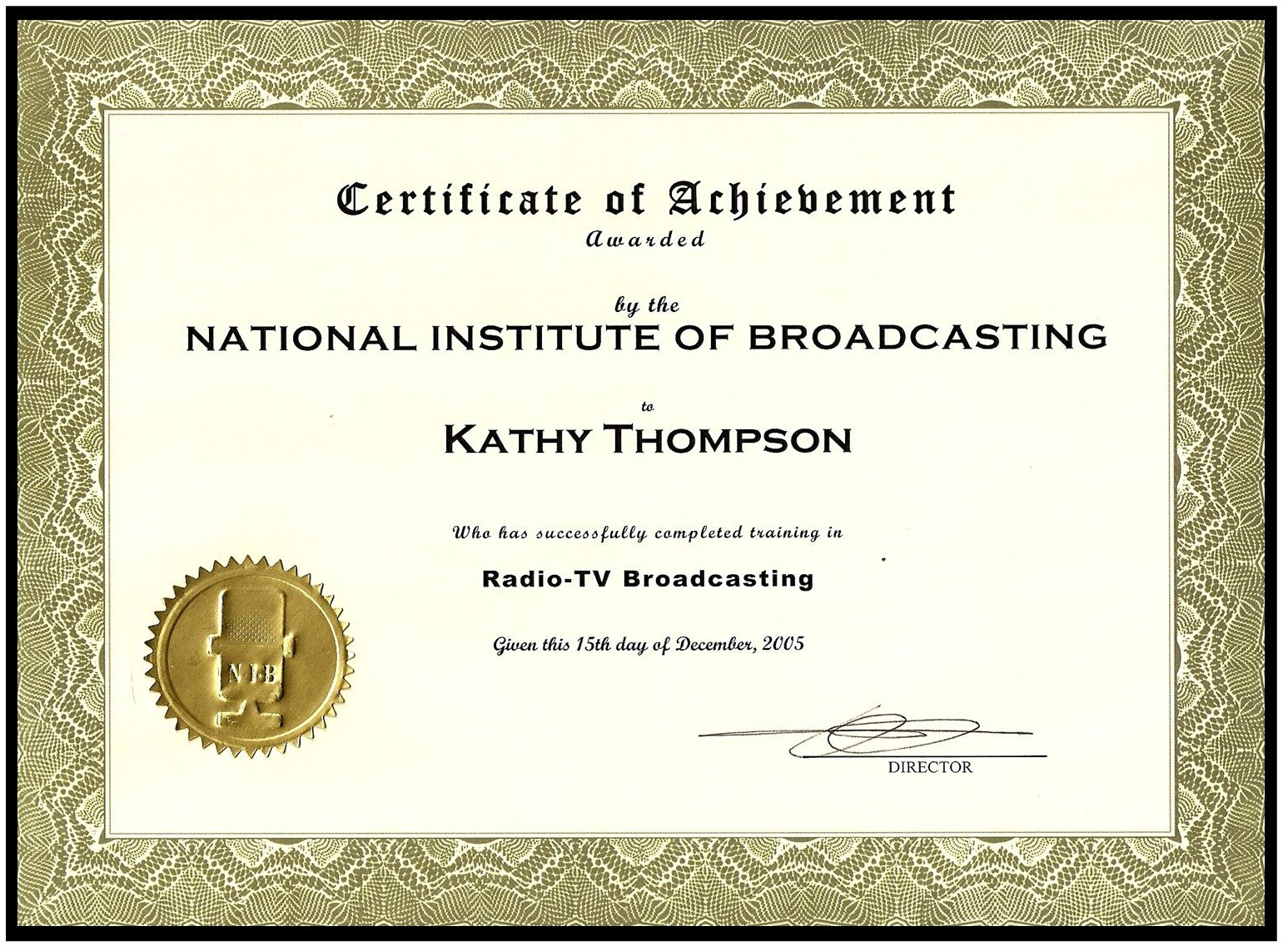 National Institute of Broadcasting