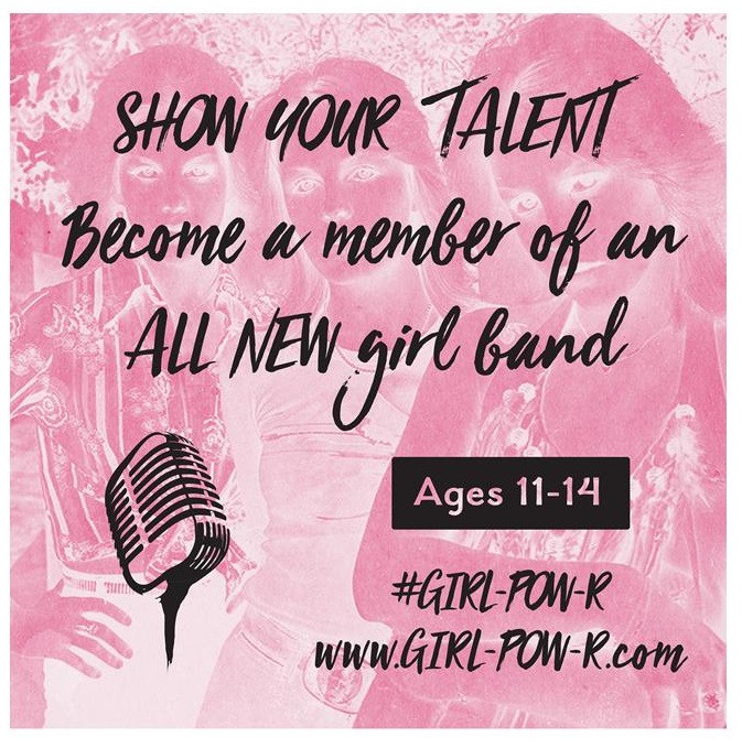 Check out this audition opportunity:  http://www.girl-pow-r.com/