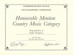 Song Writing competition