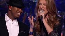 Celine Dion & Ne-Yo in the Recording Studio