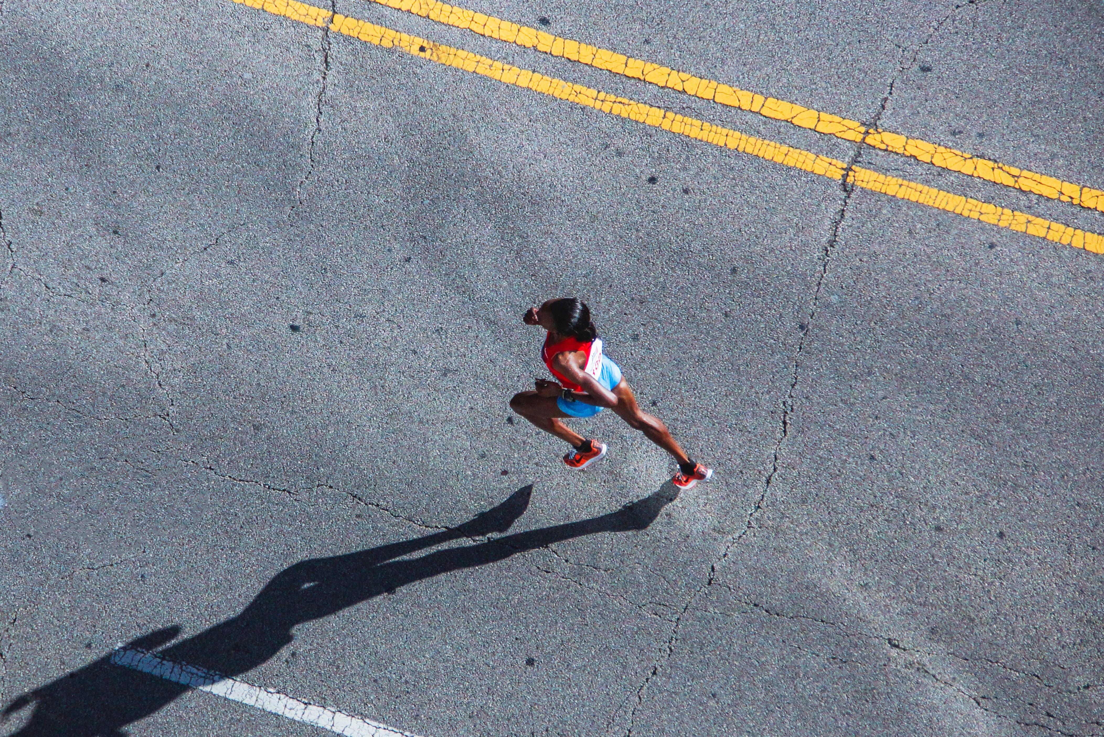 Runner From Above