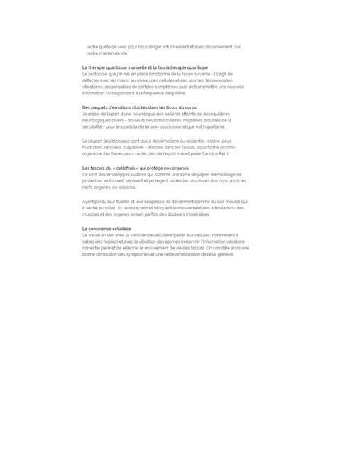 Shiatsu traditionnel et quantique suite et fin
