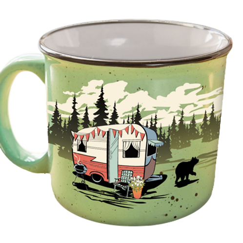 The Mug- Beary Green