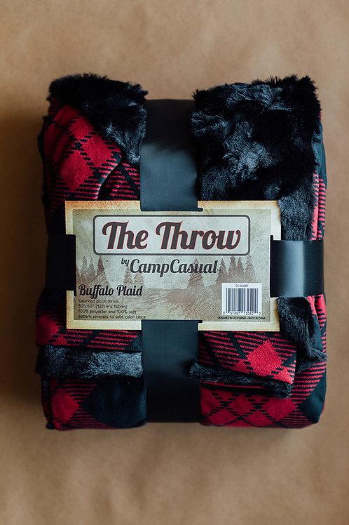 The Throw- Buffalo Plaid
