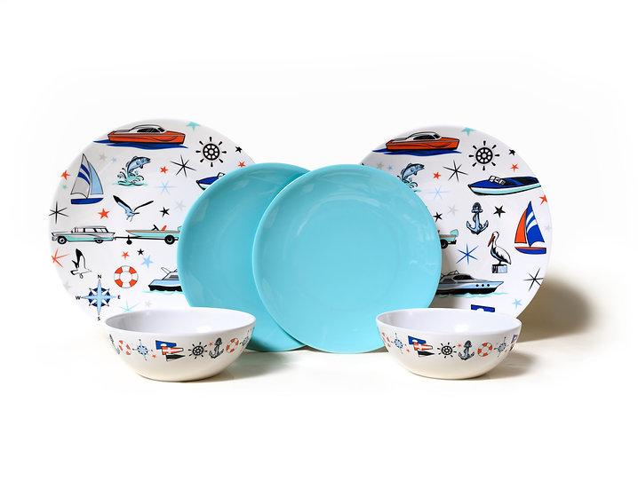 Marine Dish Set