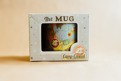 The Mug- Travel Map