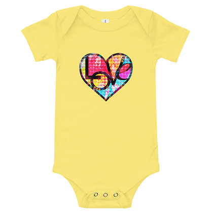 WeeWaugh Collection T-Shirt (GRAFFITI HEART LOVE) by Eric Waugh