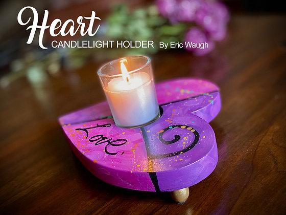Heart Candlelight Holder