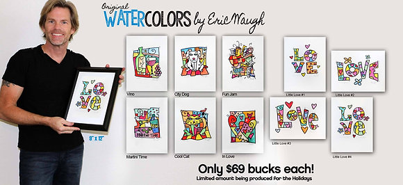 9 x 12 Water Color Collection
