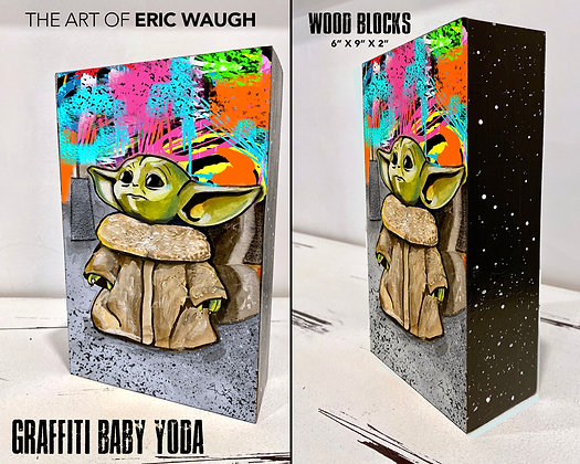 Graffiti Baby Yoda