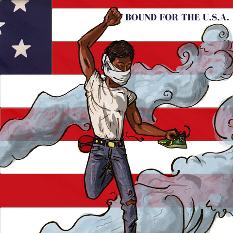 Bound for the USA