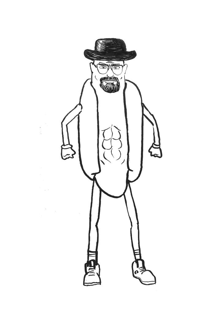 Bryan Cranston Hot Dog
