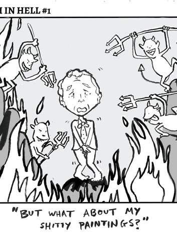 Bush in Hell