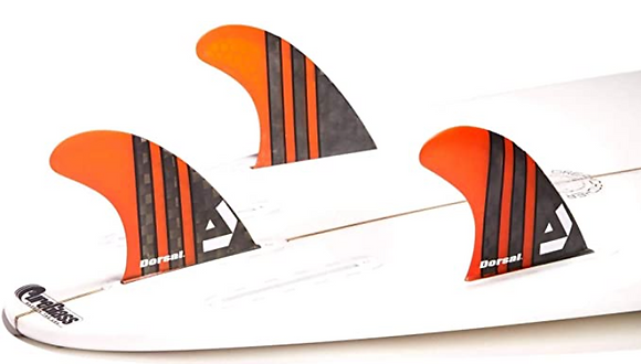 סט חרבות לגלשן - Carbon thruster honeycomb FUT base dorsal