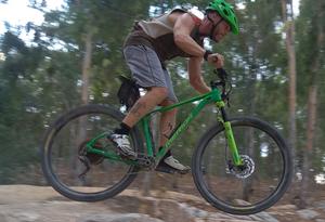 אופני הרים זנב קשיח