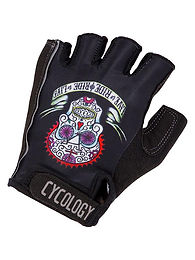 Cycology day of the living Sgloves כפפות רכיבה קצרות