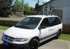 גגון אופניים לרכב