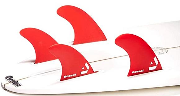 סט חרבות לגלשן - quad honeycomb FUT base dorsal