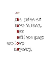 "Louis Hobson, ""Light"" lyrics"