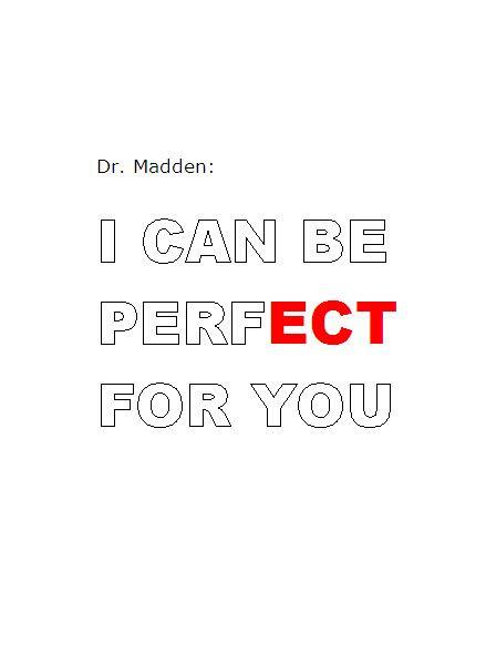 Dr. Madden, ECT
