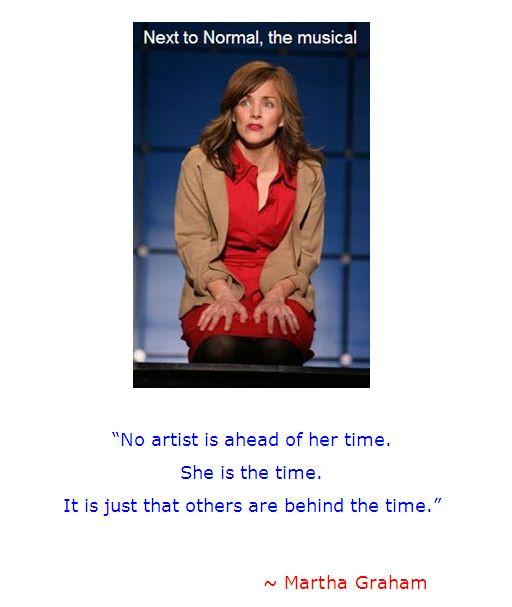 Martha Graham quote, Diana